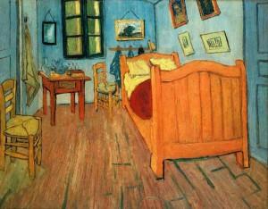 Van Gogh - Dormitorul din Arles