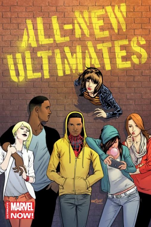All New Ultimates. Este una dintre cele mai diverse benzi publicate de Marvel, a cărei diversitate a ieșit natural mulțumită vârstei prea puțin înaintate a universului Ultimate. Coincidență sau nu, este și una dintre cele mai bune benzi publicate de companie.